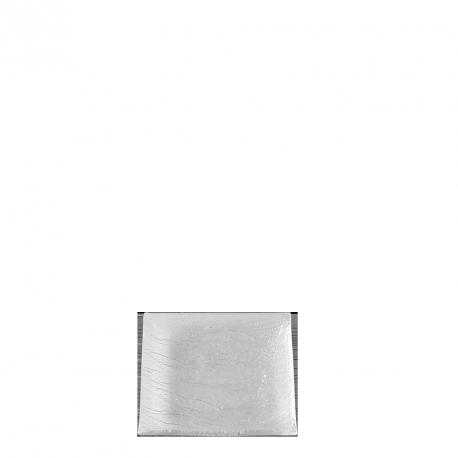 Assiette carrée Verre 10 x 10 cm