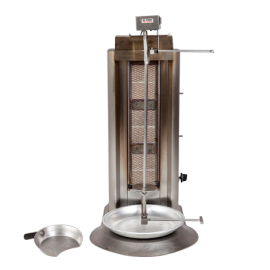 Machine à Kebab gaz - moteur 220 V