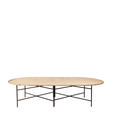 Table ovale 2,90 x 1,50 m