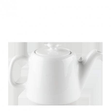 Théière porcelaine blanche