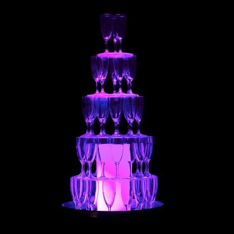 Cascade à champagne