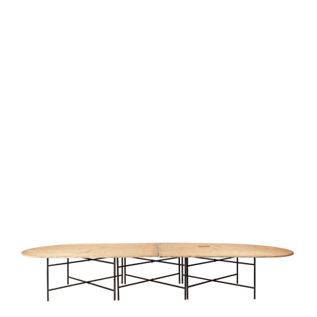 Table ovale 4,50 x 1.50