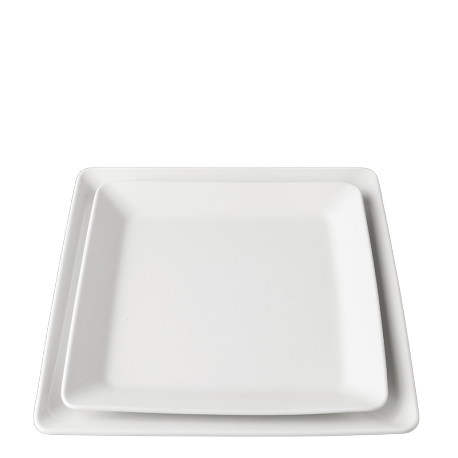 Assiette Pyro 21 x 21 cm